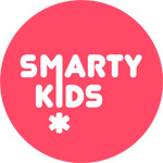 logo smarty kids red